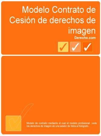 Contrato de cesión de derechos de imagen