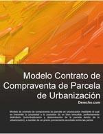 Contrato de compraventa de parcela de urbanización
