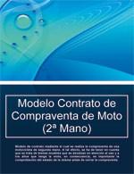 Contrato de Compraventa de Moto (2ª Mano)