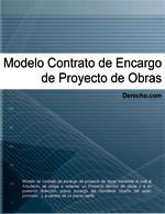 Contrato de encargo de proyecto de obras