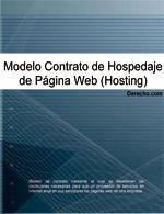 Contrato de hospedaje de Página Web (hosting)