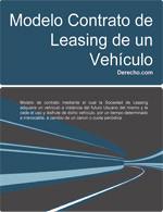vehiculo leasing: