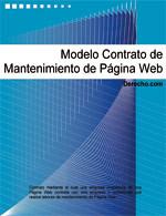Contrato de mantenimiento de página web