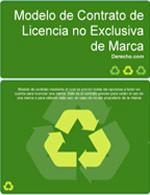 Contrato de licencia no exclusiva de marca