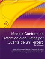 Contrato de tratamiento de datos de carácter personal por cuenta de tercero