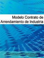 Contrato de arrendamiento de industria