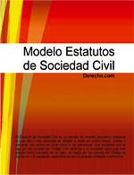 Estatutos de Sociedad Civil