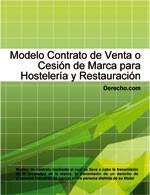 Contrato de venta o cesión de marca para hostelería y restauración
