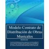 Contrato de distribución de obras musicales
