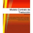 Contrato de traducción