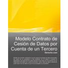 Contrato de cesión de datos por cuenta de un tercero