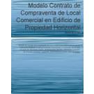 Contrato de compraventa de local comercial en edificio de propiedad horizontal