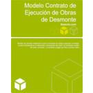 Contrato de ejecución de obras de desmonte