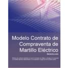 Contrato de compraventa de martillo eléctrico