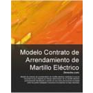 Contrato de arrendamiento de martillo eléctrico