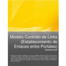 Contrato de links (establecimiento de enlaces entre Portales)