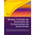 Contrato de suministro de componentes de automóviles