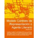 Contrato de representación o agente literario