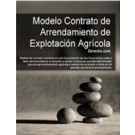 Contrato de arrendamiento de explotación agrícola