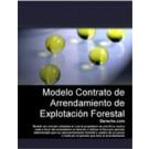 Contrato de arrendamiento de explotación forestal