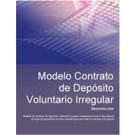 Contrato de depósito voluntario irregular