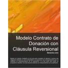 Contrato de donación de cláusula reversional