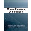 Estatutos de Fundación