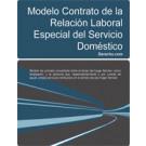 Contrato de trabajo para el servicio doméstico
