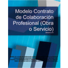 Contrato de colaboración profesional (obra o servicio)