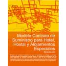Contrato de suministro para hotel, hostal y alojamientos especiales