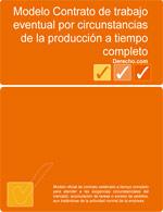 Contrato de trabajo eventual por circunstancias de la producción a tiempo completo