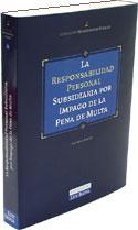 Responsabilidad personal subsidiaria por impago de la pena de multa, La