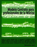 Contrato para profesionales de la música