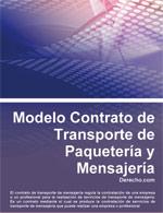 Contrato de Transporte de Paquetería y Mensajería
