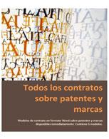 Todos los contratos sobre patentes y marcas