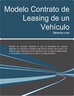 Contrato de leasing de un vehículo