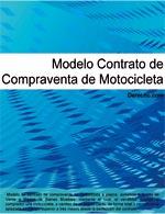 Contrato de compraventa de motocicleta