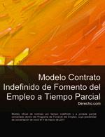 Contrato indefinido de fomento del empleo a tiempo parcial