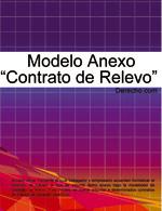 """Anexo """"Contrato de relevo"""""""