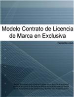 Contrato de Licencia en exclusiva de marca