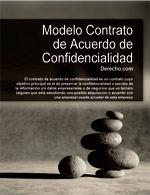Contrato o Acuerdo de confidencialidad