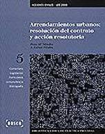 Arrendamientos urbanos: resolución del contrato y acción resolutoria (Libro electrónico)